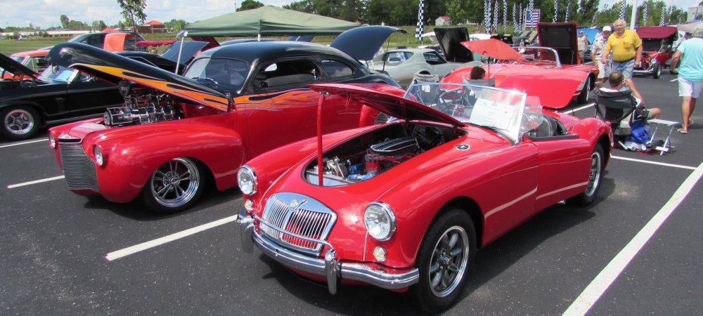 Maryville Charity Car Show Welcome